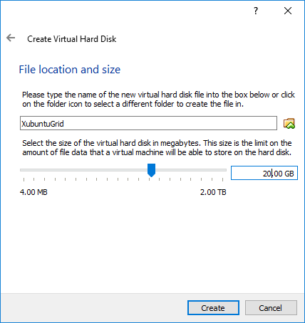 VM File location and size